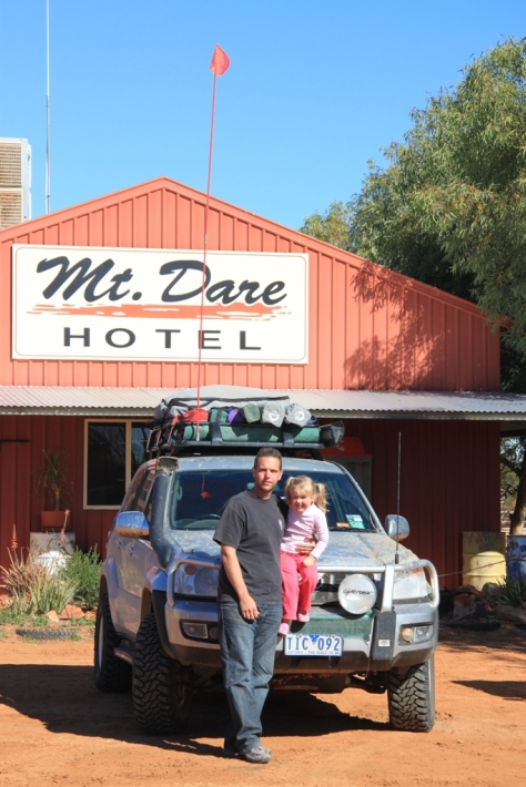 We finally made it to the western side of the Simpson - Mt Dare Hotel