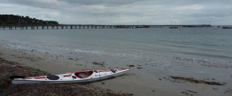 An early start at Flinders Pier