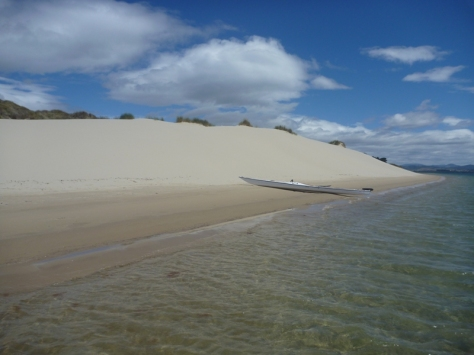 Calm waters, clean sand and no people.....great spot at Sandy Point near Dodges Ferry.