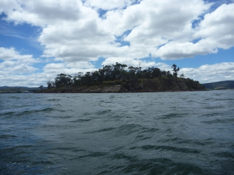 Woody Island near Midway Point.