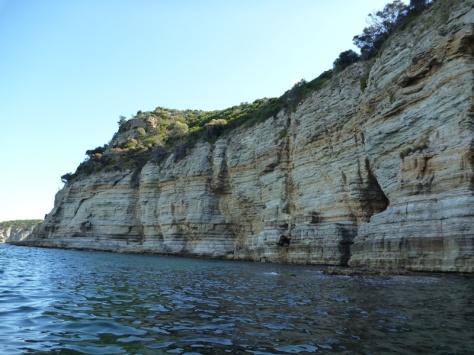More cliffs near Cape Deslacs