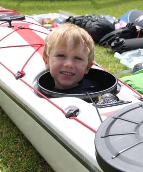 I am tempted to take the boy with me in the forward hatch but I am concerned about the loss of watertight integrity.