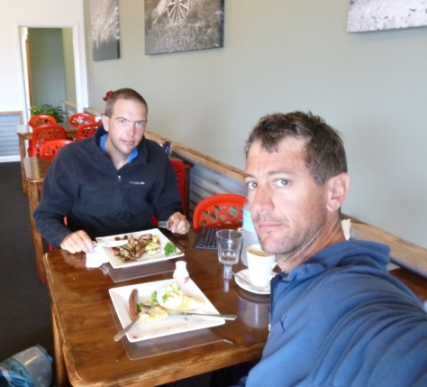 Breakfast at Freckles Cafe was a welcome change from my usual protein bar in the dark while packing the kayak.