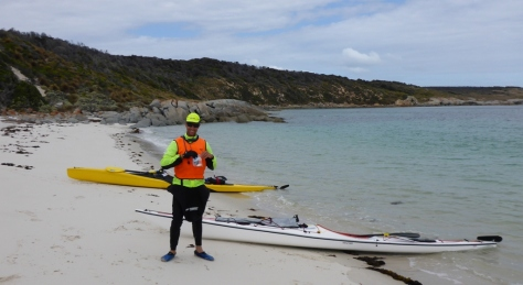 A quick break on a random beach - Cape Barren Island
