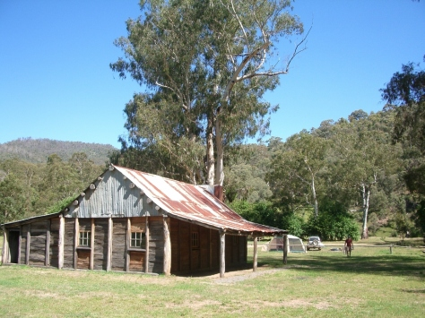 Fry's Hut near Sheepyard Flat isn't for sleeping in but a prime example of classic high country architecture.