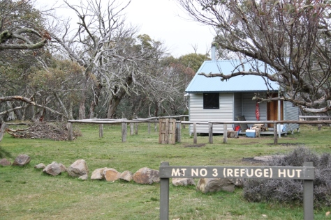 The poorly named Mt No. 3 (Refuge) Hut is in a great location and is a very nice modern hut. Yes it's near Mt No. 3.