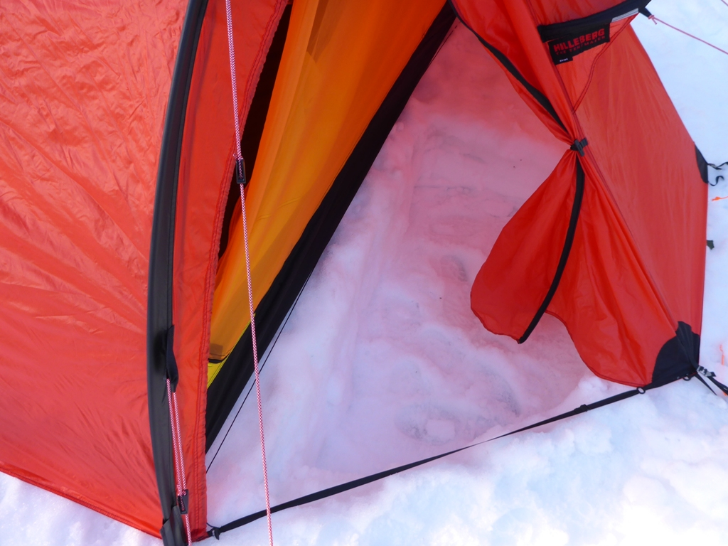 I normally like to dig a hole in the vestibule to make entering and exiting the & Gear Review: Hilleberg Keron 4 tent | The World of Bretto