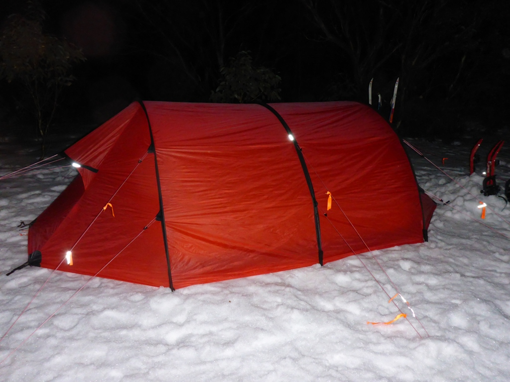 The tent comes with a few small patches of refelctive tape - but I have added & Gear Review: Hilleberg Keron 4 tent | The World of Bretto