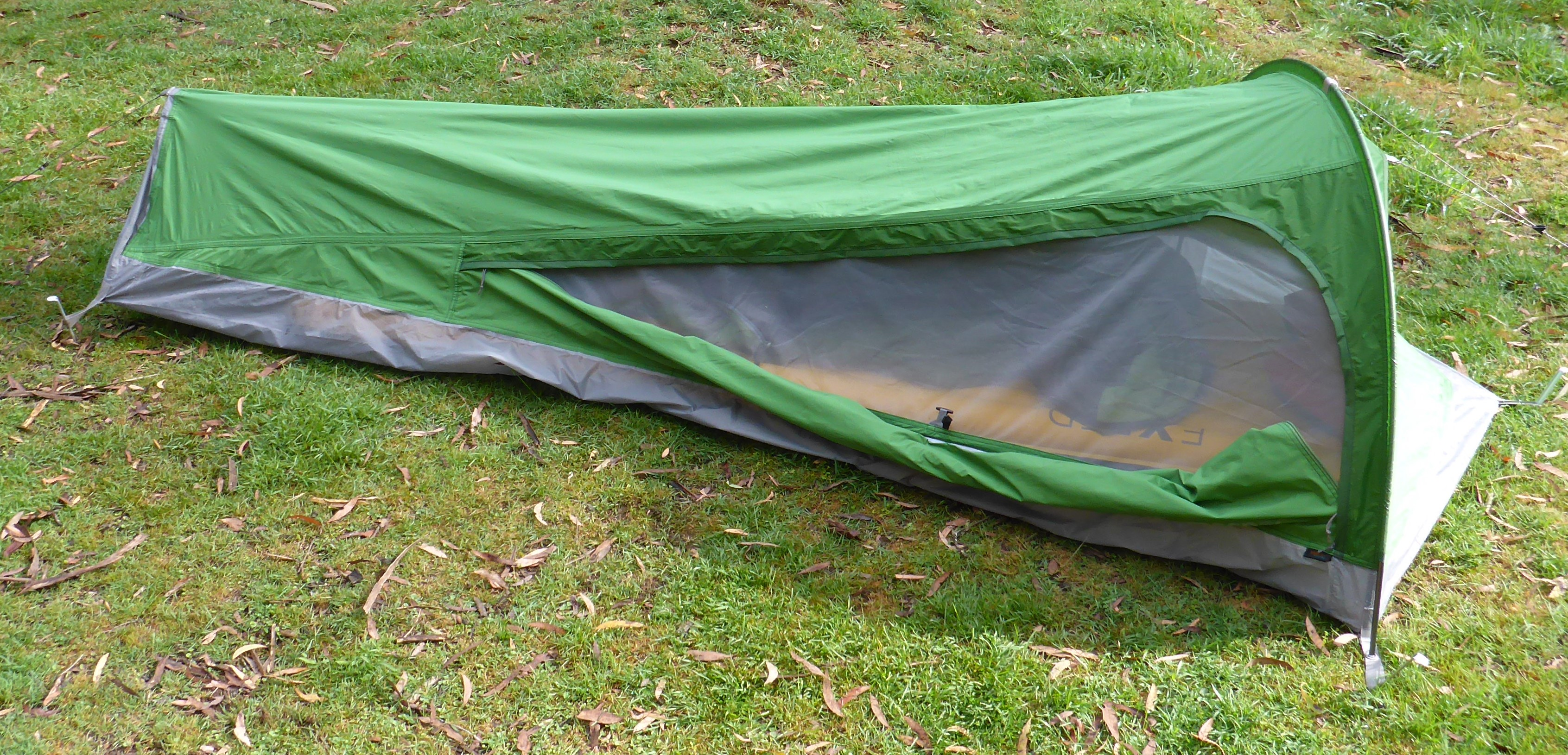 P1030820 & Gear Review: Macpac Bush Cocoon Bivy Bag | The World of Bretto