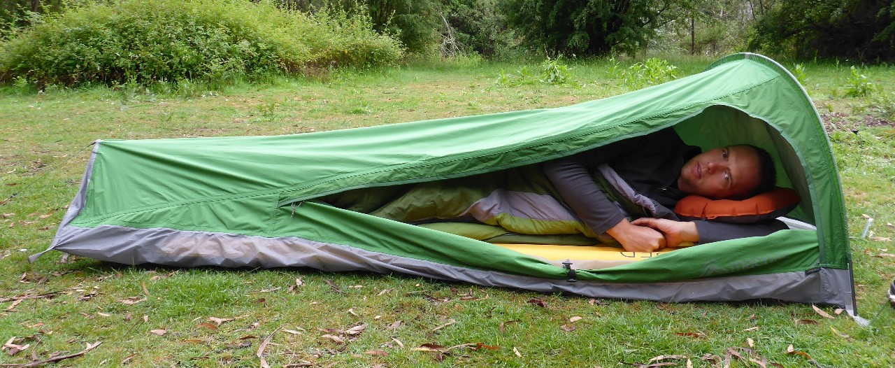 resized_P1030831 & Gear Review: Macpac Bush Cocoon Bivy Bag | The World of Bretto