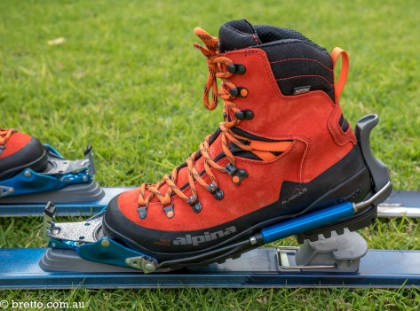 Gear Review Alpina Alaska 75 Ski Boots Amp Voile Hardwire 3