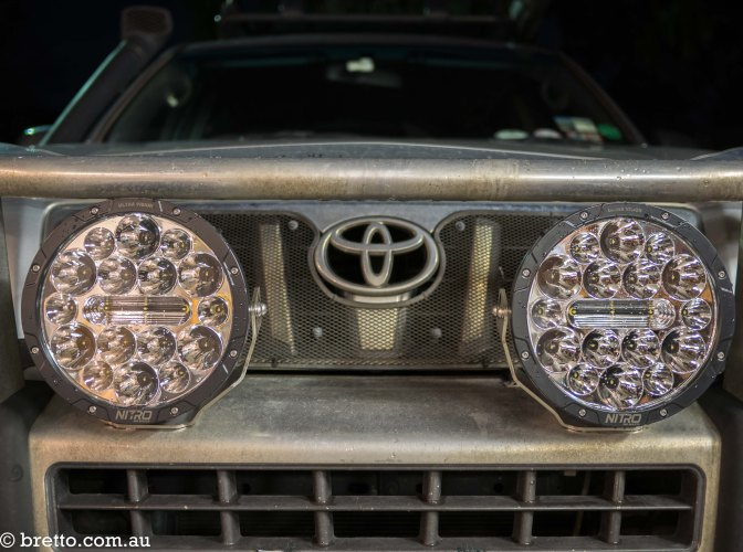 Gear Review: Ultra Vision Nitro 140 Maxx LED Driving Lights